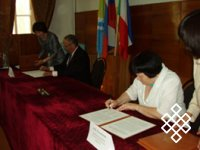 Трехстороннее соглашение и 120-летие завершения экспедиции Н. Ф. Катанова по Туве