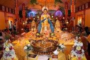 Открытие выставки священных буддийских реликвий в Кызыле