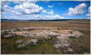 Свернуты раскопки скифского кургана на Алтае
