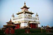 Научная конференция в главном буддийском храме Калмыкии