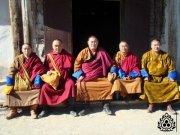 Ламы из Тувы освятили хурээ в Цэнгельском сумоне Монголии