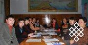 Одно из заседаний Совета молодых ученых и специалистов. Фото Оюмы Омзаар-мл.