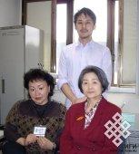 Марина Монгуш с японскими коллегами