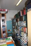 Учебно-методический кабинет с литературой, которую собирают по всей Туве коллеги и студенты-филологи