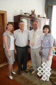 Валерия Кан, Алексей Коновалов, Каадыр-оол Бичелдей и Марианна Харунова