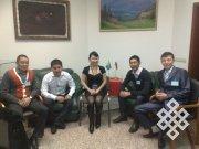 Аяс Ондар - новый президент тувинского студенческого землячества в Москве