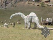 Долина динозавров в Монголии. Фото Валентины Сузукей