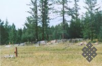 Кладбище п. Кунгуртуг