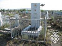 Намогильный памятник. 1967, г. Кызыл