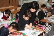 Фото из школьной жизни школы № 3 г. Кызыла