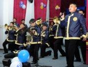Духовой оркестр Правительства Тувы отметил свое трехлетие большим концертом
