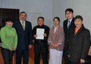 В Туве открылся Центр тувинско-японской дружбы «Каргыраа»