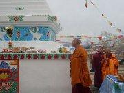 Ступа «Бодхи» на малой родине Камбы-ламы Тувы Тензин Цультима