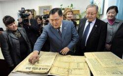 В День российской печати глава Тувы встретился с учеными-гуманитариями