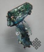 Херелмаа Манзырыкчы. Один из опытных образцов металлургического кремния на основе брикетированного аморфного кремнезема