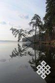 Андрей Монгуш. На озере под г. Миасс