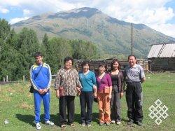 Тувинцы Тувы, Монголии и Китая впервые за 100 лет (до этого они ведь общались).