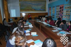 Школа молодого ученого в Туве
