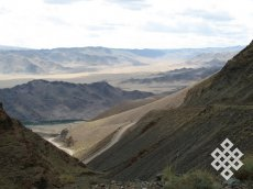 Через Цаган-Шибету на Алтай