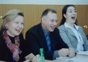 Члены Всероссийского конкурса педагогов школ прошлого года были в восторге от творческих находок лучшего учителя Тувы 2010 года Евгения Пляскина