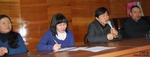 Ученые Тувы встретились с музыкантами из Японии
