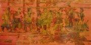 В Новосибирске выставили древний монгольский ковер
