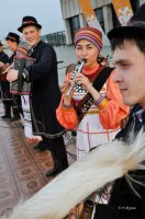 Тувинский «ШааЛааШ» звучал на открытии «Науруза» в Казани