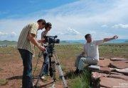 В Туве прошли первые съемки фильма о Николае Катанове