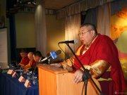 Всероссийская буддийская конференция стартовала в Агинском