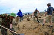 Начало раскопок около Ээрбека