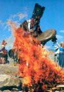 Подружился с тувинскими шаманами