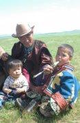 Экспедиция Абдрашова встретила в Монголии маленького Чингисхана
