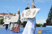 В Туве прошел II Международный фестиваль-конкурс войлока
