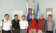 Китайские и австрийские гости в Тувинском госуниверситете