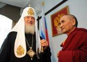Патриарх Кирилл предложил создать в Туве буддийско-православный совет