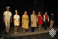 В тувинский театр пришла тишина