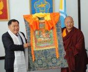 В Туве издадут книгу тибетских лам о буддийской вере