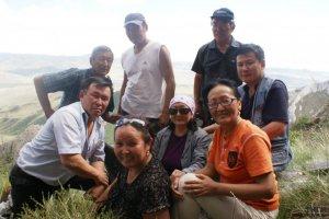 В Эрзине работала тувинско-монгольская научная экспедиция