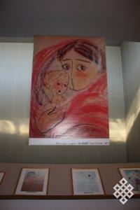 Рисунки Нади Рушевой в Барнауле