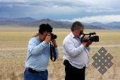 За опросами не забываем фиксировать красоты Монголии.