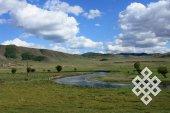 Признаки Севера: зеленая цветовая гамма пейзажей северной Монголии.