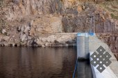 Водохранилище первой в Монголии ГЭС на реке Завхан несколько лет копило воду до проектного уровня.
