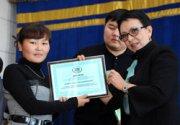 В Туве вручены именные стипендии Ларисы Шойгу и Алексея Пиманова