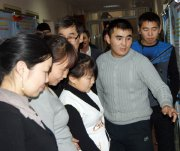 В Тувинском госуниверситете прошла выставка инновационных проектов