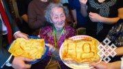 Наталья Ажикмаа-Рушева отметила 85-летие
