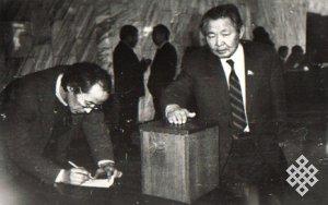 Первые демократические выборы в Туве 1990 года (отрывок из рукописи «Уроки жизни и поиск»)
