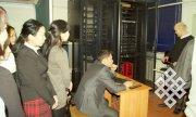В Тувинском госуниверситете демонстрировали суперкомпьютерный центр
