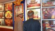 Буддизм Тувы, Калмыкии и Бурятии - на выставке в Индии