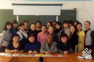 В Тувинском госуниверситете прошла неделя творчества Кара-Куске Чооду