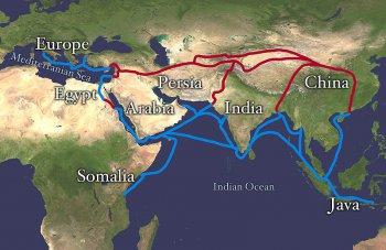 Великий Шелковый путь в контексте исторической ретроспективы взаимодействия Востока и Запада и процессов глобализации